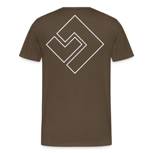 concept rug - Mannen Premium T-shirt