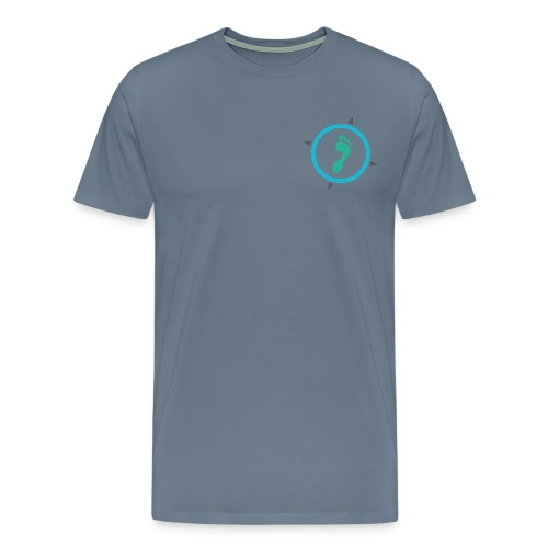 Footsteps_Logo_einzeln - Männer Premium T-Shirt