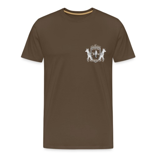 Wappen Carolus Magnus negativ - Männer Premium T-Shirt