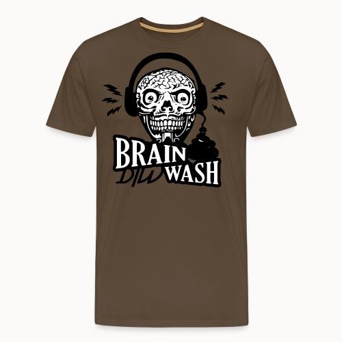 dirty brain - Männer Premium T-Shirt