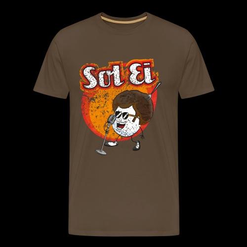 Sol Ei - Männer Premium T-Shirt