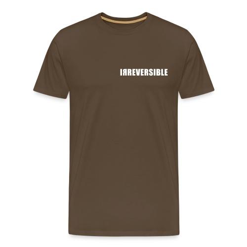 irreversible shirt font 02 - Men's Premium T-Shirt