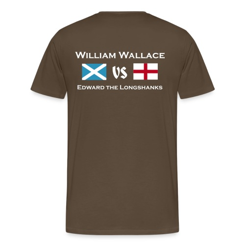 William vs Edward M - Männer Premium T-Shirt