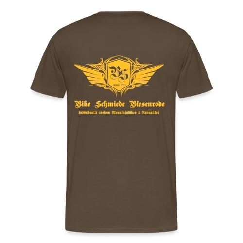 BS Emblem1 - Männer Premium T-Shirt
