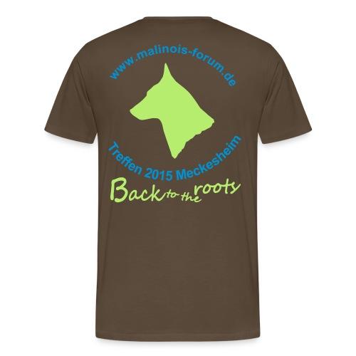 treffen 15 - Männer Premium T-Shirt