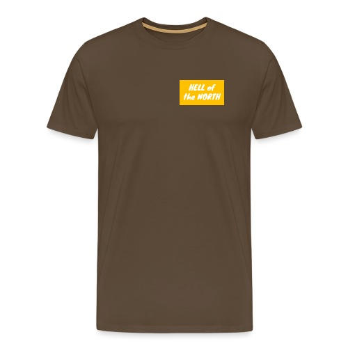 Hell of the NORTH LARGE O - Men's Premium T-Shirt