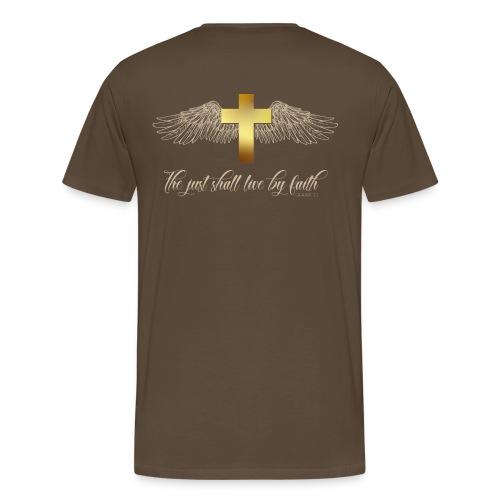 Galatians 3.11 - Camiseta premium hombre
