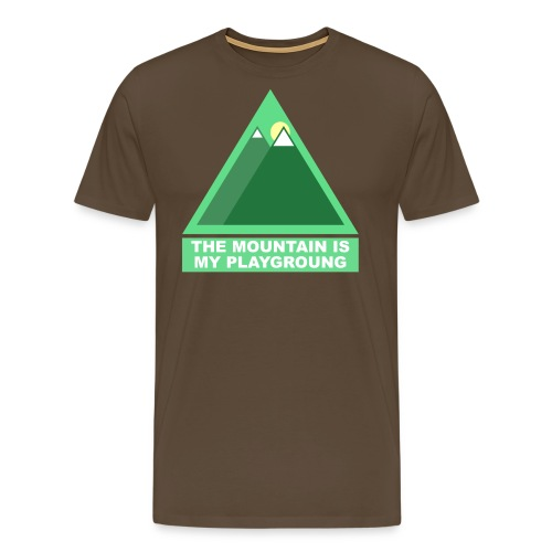 Mountain png - T-shirt Premium Homme