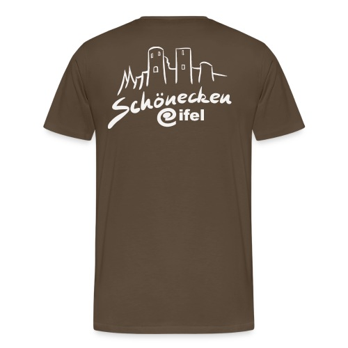 SchöneckenLogoKontur png - Männer Premium T-Shirt