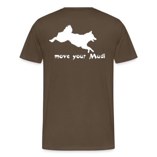 moyomu white - Men's Premium T-Shirt