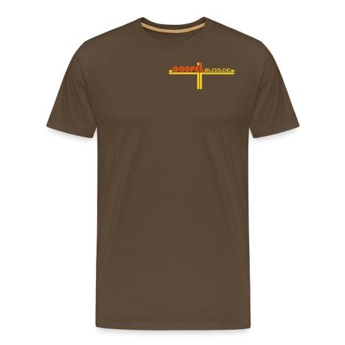 GospelBlog de - Männer Premium T-Shirt