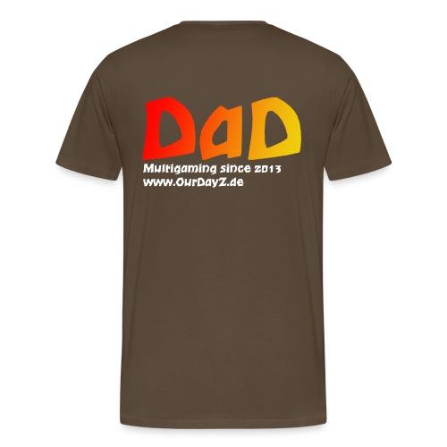 Logo White gif - Männer Premium T-Shirt