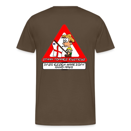 TR logo gif - Männer Premium T-Shirt