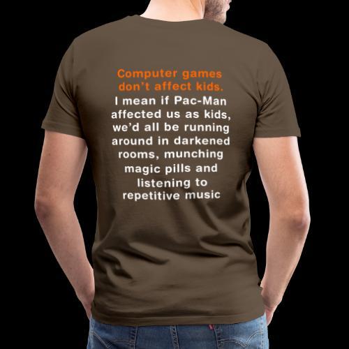 Pac-Man - Men's Premium T-Shirt