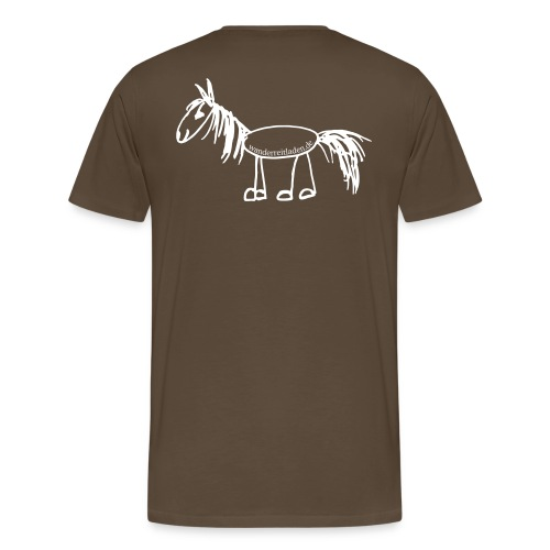 Wanderpferd - Männer Premium T-Shirt
