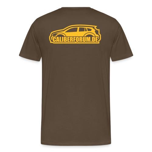 Helles Logo für dunkle Shirts - Männer Premium T-Shirt