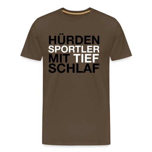 Hürdensportler - Männer Premium T-Shirt