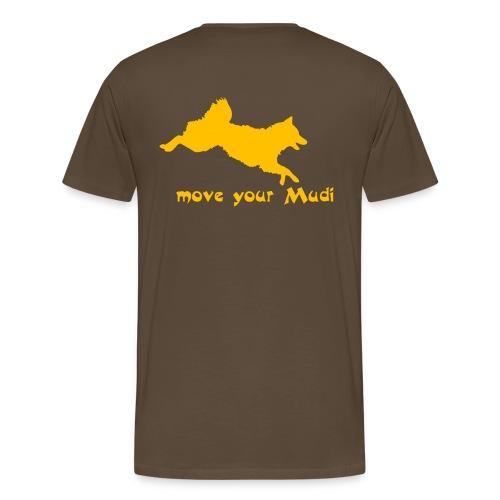 moyomu orange - Men's Premium T-Shirt