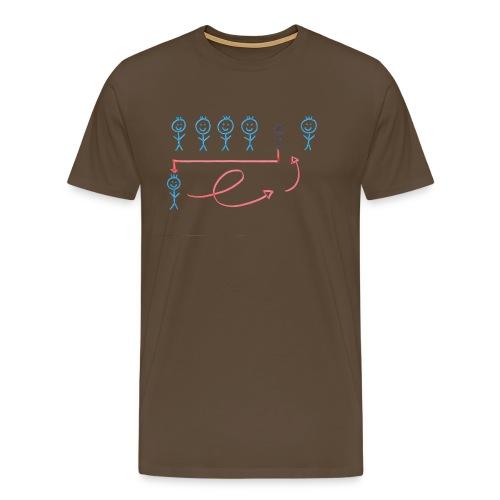 statt-wache-tanz-2 - Männer Premium T-Shirt