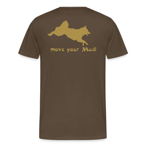 move your mudi - Men's Premium T-Shirt