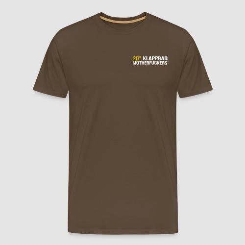 Schriftzug_Pullover - Männer Premium T-Shirt