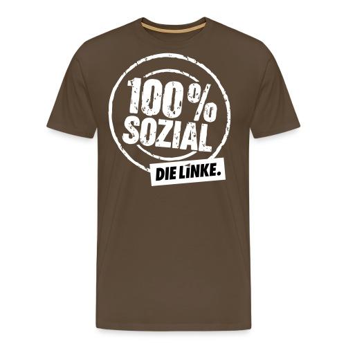 1 linkesx btw13 tshirts vorn weissschwar - Männer Premium T-Shirt