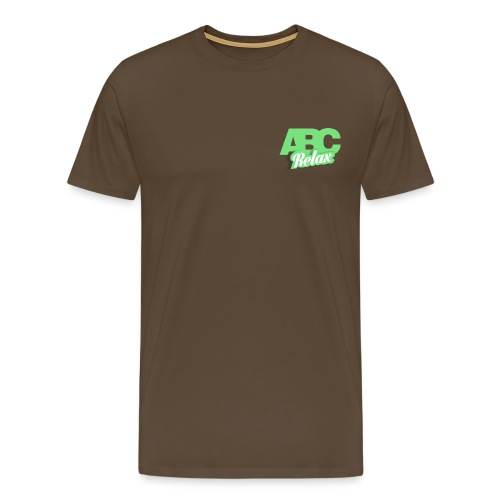 abc carré logo - Men's Premium T-Shirt