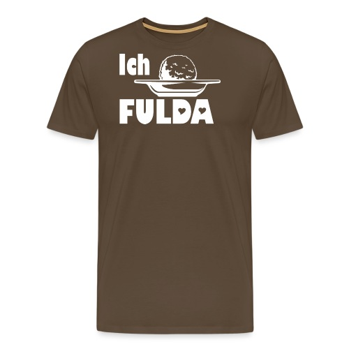 t shirt fulda ich klops fulda - Männer Premium T-Shirt
