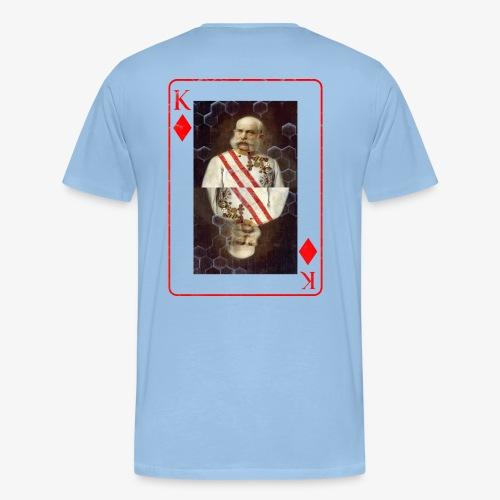 Kaiser Franz von Österreich spielkarte - Männer Premium T-Shirt