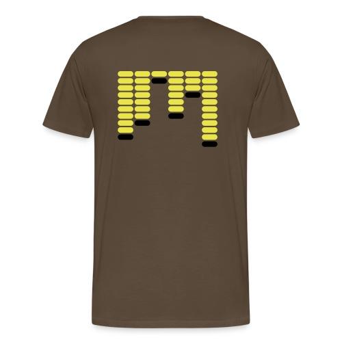 v-meter - Maglietta Premium da uomo