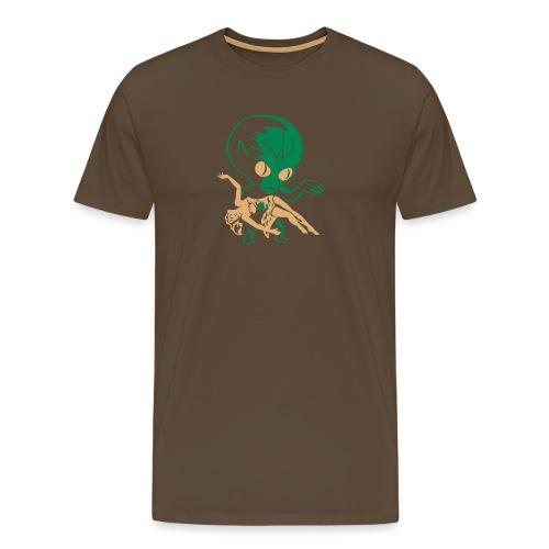 aliens big - Men's Premium T-Shirt