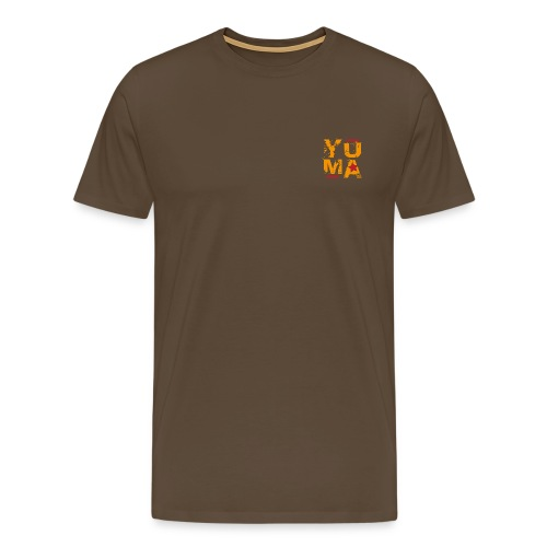 yuma orange rouge - T-shirt Premium Homme