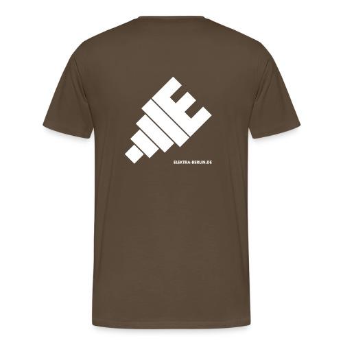 elektra Stecker - Männer Premium T-Shirt