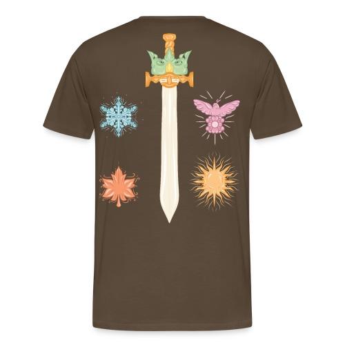 A 3 - T-shirt Premium Homme
