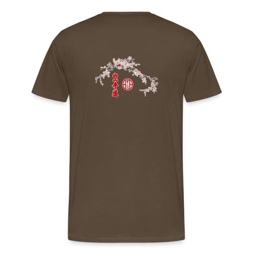 Branche cerisier gif - T-shirt Premium Homme