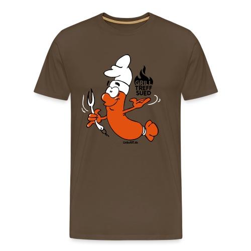gts_wurst_shirtvorlage - Männer Premium T-Shirt