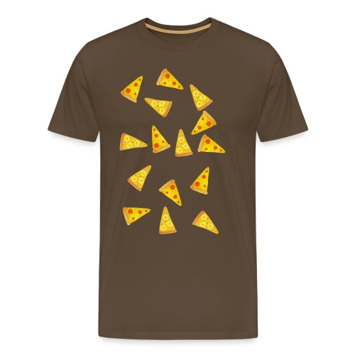 Pizza is Bae - Männer Premium T-Shirt
