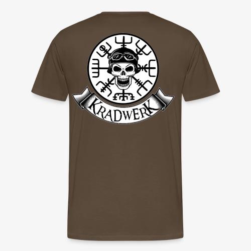Logo und Banner/ groß - Männer Premium T-Shirt