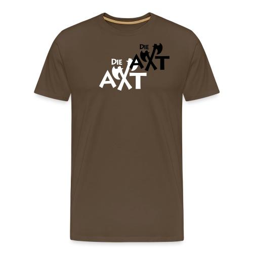 Rückennummer Borowka - Männer Premium T-Shirt