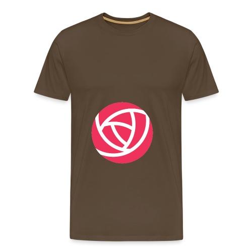 Flowjob Logo - Men's Premium T-Shirt