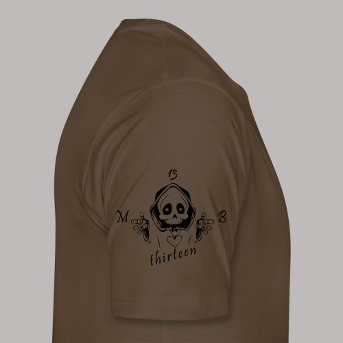 MB13 - Skull - Men's Premium T-Shirt