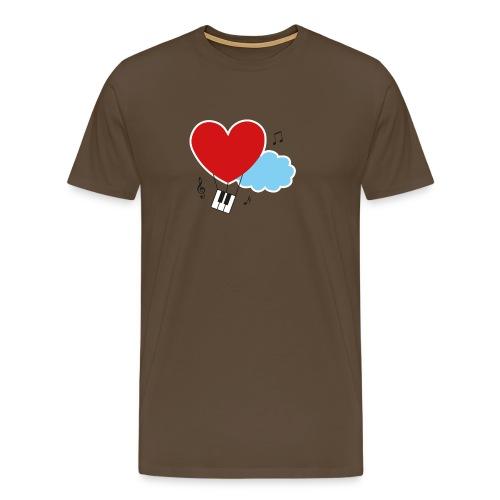 logo_contour_sans_txt - T-shirt Premium Homme