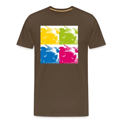 4 Kühe - Männer Premium T-Shirt