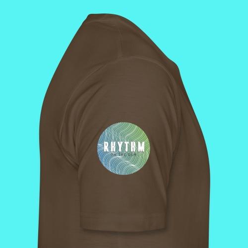 Rhythm On The Run Logo - Men's Premium T-Shirt
