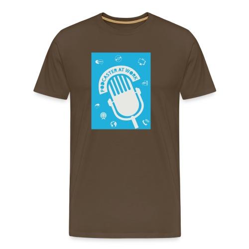 Podcaster at Work - Die Tasse für Podcaster - Männer Premium T-Shirt