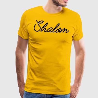 Shalom - T-shirt Premium Homme