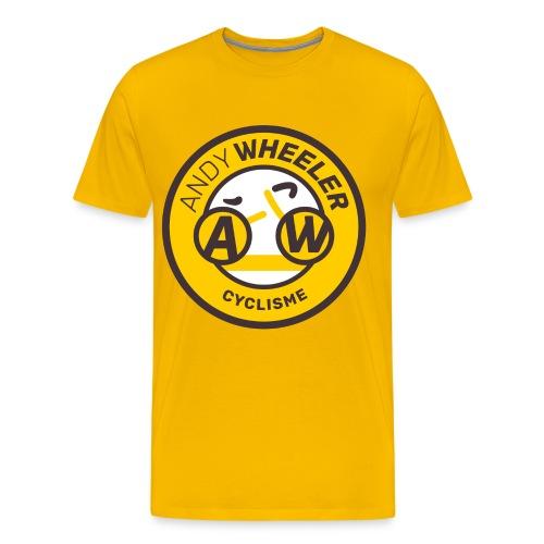 AW CYCLISME logo 1 - T-shirt Premium Homme