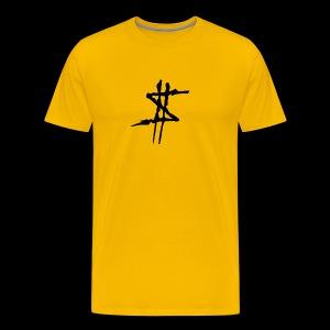 DOLLAR SIGN LOGO - Premium-T-shirt herr
