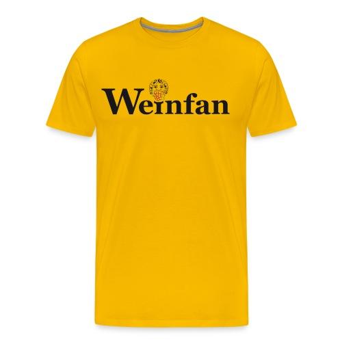 Weinfan Traube 1 - Männer Premium T-Shirt