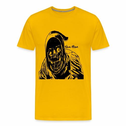 Dark,Horror,Skrull,Böse,Dämon,Fun,Party,Lustig - Männer Premium T-Shirt